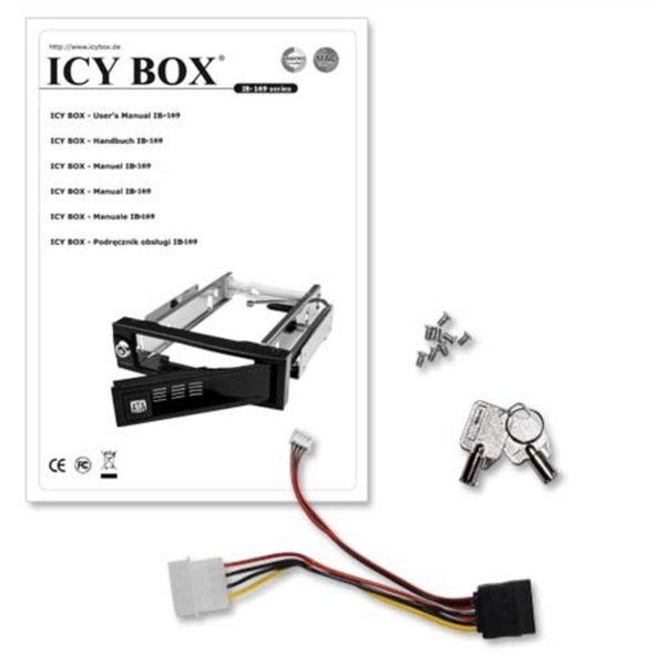 Icybox IB-168SK-B hot-swap nosilec za 3,5
