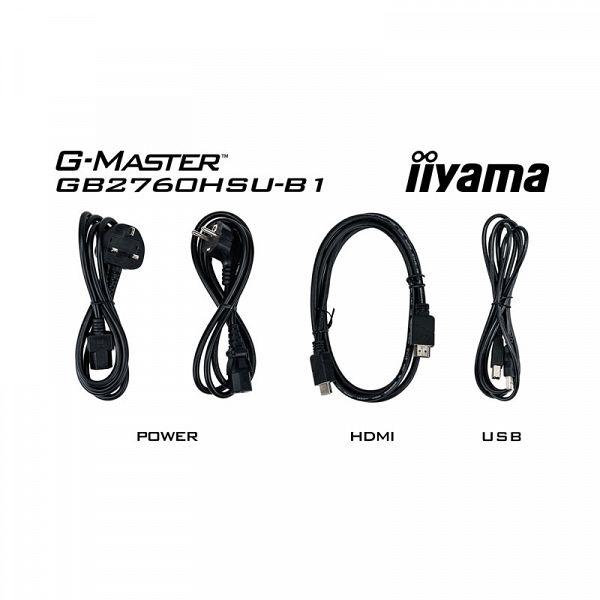 IIYAMA G-MASTER Red Eagle GB2560HSU-B1 68,6cm (27