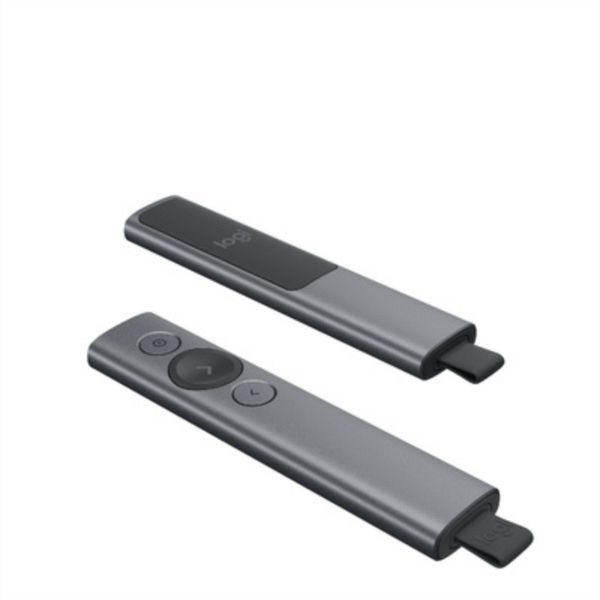 Logitech 910-004861 brezžični presenter Spotlight, USB, siv