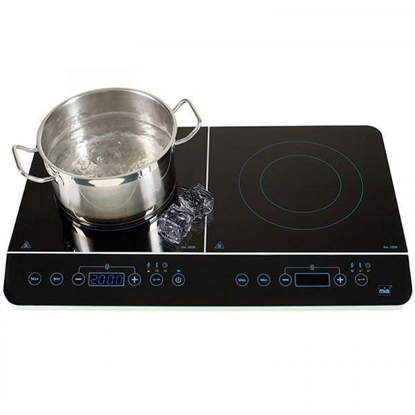 MIA IKP 2214 2000/1500W dvojna indukcijska kuhalna plošča