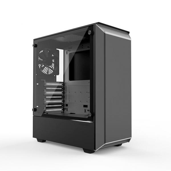 PHANTEKS ECLIPSE P300 TEMPERED GLASS USB3 ATX črno ohišje