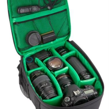 RivaCase nahrbtnik črn za DSLR fotoaparate 7460 PS