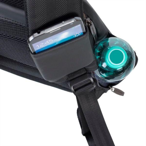 RivaCase črn nahrbtnik za prenosnik 14