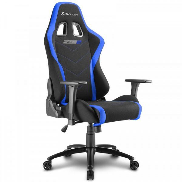 SHARKOON SKILLER SGS2 črn/moder gaming stol
