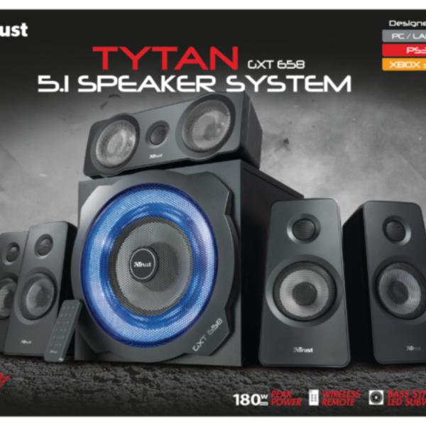 Trust 21738 GXT 658 TYTAN 5.1 komplet zvočnikov
