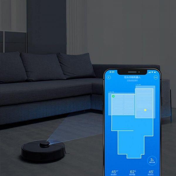 Xiaomi Mi robotski sesalnik 2ND ČRN