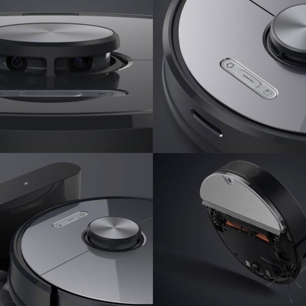 Xiaomi Roborock robotski sesalnik S6 črn