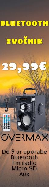 Zvočnik bluetooth Overmax