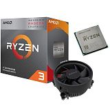 AMD Ryzen 3 3200G 3,6/4,0GHz 6MB AM4 Wraith Stealth hladilnik multipack procesor