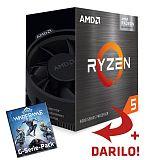 AMD Ryzen 5 5600G 3,9/4,4GHz 65W AM4 Wraith Stealth hladilnik BOX procesor