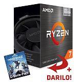 AMD Ryzen 7 5700G 3,8/4,6GHz 65W AM4 Wraith Stealth hladilnik BOX procesor