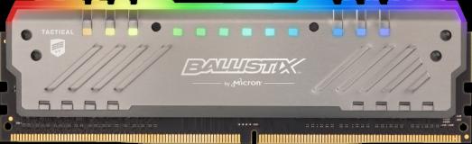 Crucial Ballistix Tactical Tracer RGB 8GB DDR4-3000 UDIMM PC4-24000 CL15, 1.35V