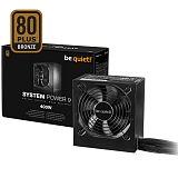 BE QUIET! System Power 9 400W (BN245) 80Plus Bronze ATX napajalnik