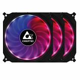 Chieftec TORNADO set RGB ventilatorjev (3x120mm)