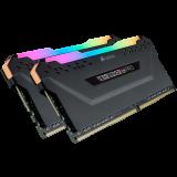 Corsair VENGEANCE RGB PRO 16GB (2 x 8GB) DDR4 DRAM 3000MHz PC4-24000 CL15, 1.2V/1.35V