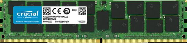 Crucial 16GB DDR4-2666 RDIMM PC4-21300 CL19, 1.2V ECC Registered