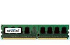 Crucial 1GB DDR2-800 UDIMM PC2-6400 CL6, 1.8V
