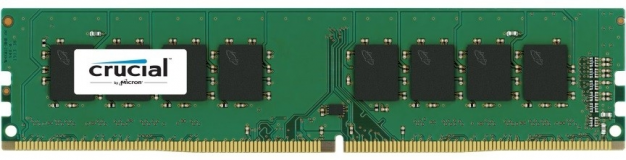 Crucial 4GB DDR4-2666 UDIMM PC4-21300 CL19, 1.2V