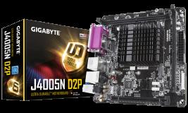 GIGABYTE J4005N D2P, integriran INTEL Dual-Core Celeron J4005 (2.7GHz)