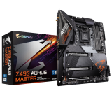 GIGABYTE Z490 AORUS MASTER, DDR4, SATA3, USB3.2Gen2, HDMI, Intel 2.5GbE LAN, LGA1200 ATX