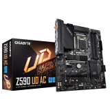GIGABYTE Z590 UD AC, DDR4, SATA3, USB3.2Gen2, DP, Wi-Fi, LGA1200 ATX