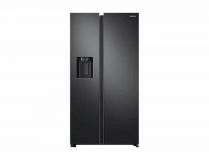 Hladilnik SAMSUNG RS68N8240B1/EF dispenzer ledomat mat črne barve