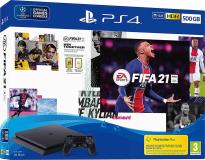 IGRALNA KONZOLA PLAYSTATION PS4 500GB set FIFA 21