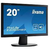 IIYAMA ProLite E2083HSD-B1 49,4cm (19,5'') FHD TN VGA/DVI zvočniki LED LCD monitor