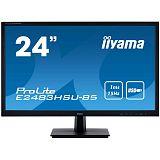IIYAMA ProLite E2483HSU-B5 60,96cm (24'') TN FHD 1ms USB zvočniki črn LED LCD monitor