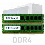 Integral 16GB Kit (2x8GB) DDR4-2666 UDIMM PC4-21300 CL19, 1.2V
