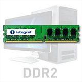 Integral 2GB DDR2-800 UDIMM PC2-6400 CL6, 1.8V