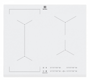 Kuhalna plošča Electrolux EIV63440BW, indukcija, bela