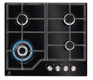 Kuhalna plošča Electrolux KGG6436K, steklo - plin