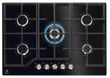 Kuhalna plošča Electrolux KGG7536K,5x plin na steklu