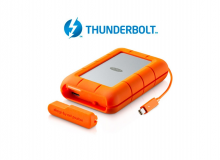 LaCie 4TB Rugged RAID Thunderbolt &  USB 3.0
