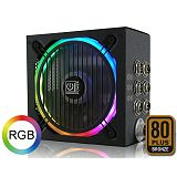 LC-POWER LC8750RGB Metatron Prophecy RGB V2.3 80Plus Bronze ATX napajalnik