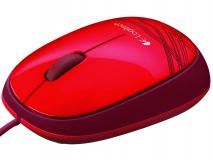 LOGITECH M105 USB Optična rdeča miška