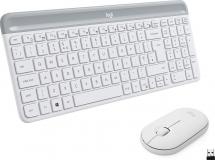 Logitech Slim Wireless Combo MK470, grafitna SLO