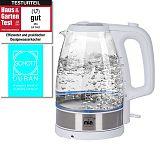 MIA Design EW 3683W steklen 1,7L 2200W bel grelnik vode