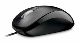 Microsoft miška Optical Mouse 500, črna
