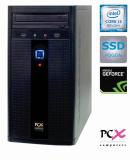Namizni računalnik PCX EXAM G2027F (I3-9100F/8GB/SSD240 GB/NV1030 2GB)