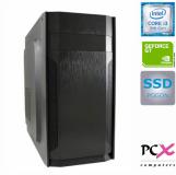 Namizni računalnik PCX EXAM i3-9100F/8GB/SSD 480GB/NV1030 2GB
