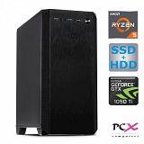 Namizni računalnik PCX EXAM R5 3600/8GB/240SSD/1TBHDD/GTX1050TI- 4GB
