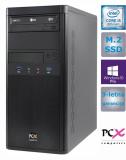 Namizni računalnik PCX EXAM WORX2.1 (i5-9400/8GB/M.2 250GB/HD630/W10 PRO/KB)