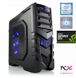 Namizni računalnik PCX EXTIAN GXLED 5.2 (i7-9700F/16GB/SSD 250GB/HDD 2TB/NV1660-6GB)