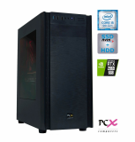 Namizni računalnik PCX EXTIAN I5-9400F/8GB/SSD256GB/2TB/GTX1660Ti