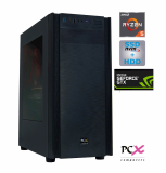 Namizni računalnik PCX EXTIAN XA5 AMD R5 2600/8GB/SSD 256GB/HDD 1TB/GTX1650-4GB