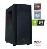 Namizni računalnik PCX EXTIAN XA6.1 PCX EXTIAN R7 2700/16GB/500GB/2TB/RTX2060-6GB