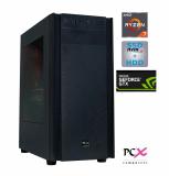 Namizni računalnik PCX EXTIAN XA7 R7 2700X/16GB/SSD 500GB/HDD 2TB/GTX1660-6GB
