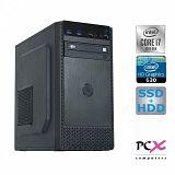 Namizni računalnikPCX EXAM i7-10700/16GB/SSD256GB+1TB/HD630